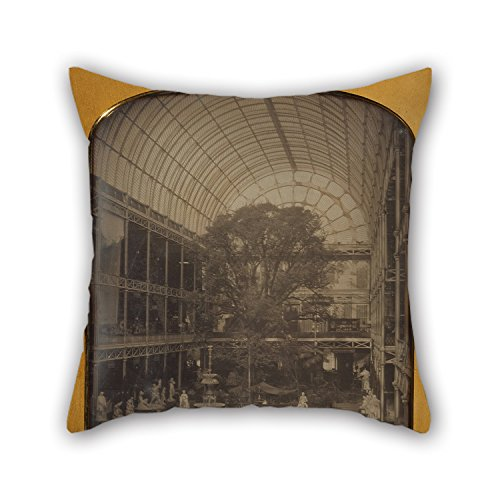 Elegancebeauty Pillow Cases 20 X 20 Inches / 50 By 50 Cm(double Sides) Nice Choice For Divan,seat,home,shop,home Office,home Theater Oil Painting John Jabez Edwin Mayall (British - The Crystal ()