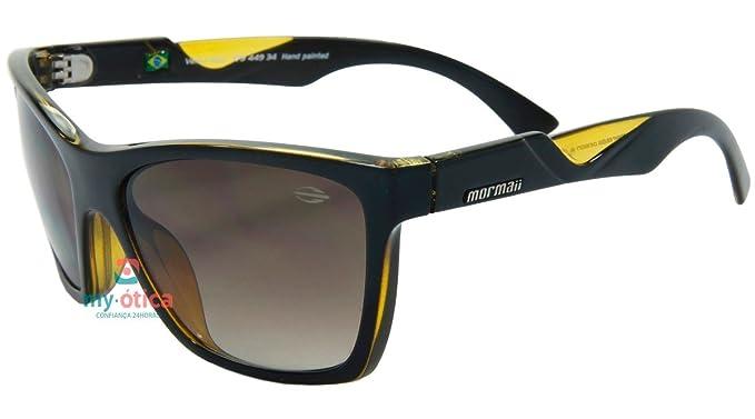 MORMAII Gafas de sol Venice beat negro y amarillo: Amazon.es ...