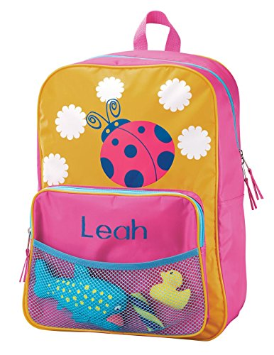 Miles Kimball Personalized Ladybug Backpack
