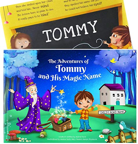 3rd 4th Birthday Gift - A Clever Personalized Story Book - Great Gift for Infants, Toddlers and Children 0-8 Years