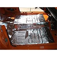 HushMat 612781 Sound and Thermal Insulation Kit (1979-1993 Mustang Floor)
