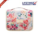 Toiletry bag Travel Organizer Cosmetic Bag makeup bag hanging Waterproof compartments Portable Travel vacation for Women Men girls boys kids (Toiletry bag-02)