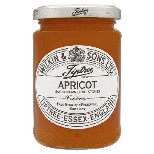 Apricot Orange Preserves - Tiptree Apricot Preserve, 12 Ounce Jar