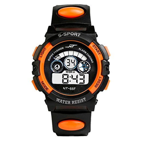 Festiday Electronic Watches for Men Fashion Casual Sport Digital Cool Smart Movement Alarm Date Multi Function Watches…