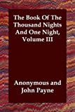 Book of the Thousand Nights and One Nigh, Anonymous, 1847024165