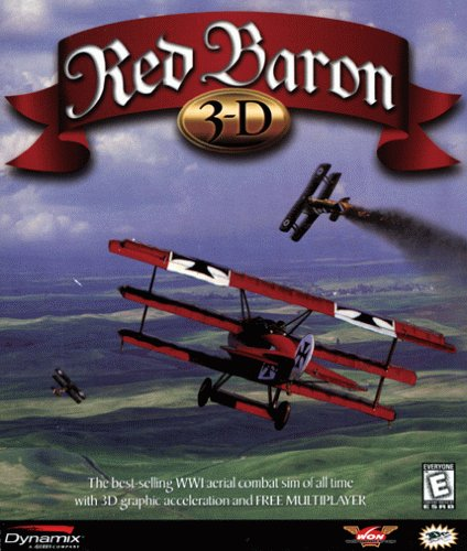 Red Baron 3-D - PC