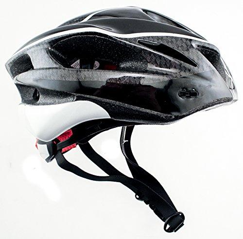 RALEIGH DISCOVERY Carbon Road Bike MTB Helmet Sm/Med 56/58cm Black CPSC
