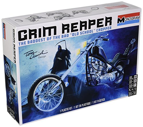 Revell Tom Daniel Grim Reaper Motorcycle Model Kit from Revell
