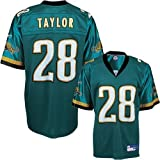 Fred Taylor Jaguars Teal NFL Replica Jersey ( sz. XXXXL, Teal : Taylor, Fred : Jaguars )