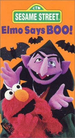 Sesame Street - Elmo Says Boo [VHS] -