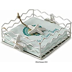 Starfish Beverage cocktail Napkin Holder with weighted arm