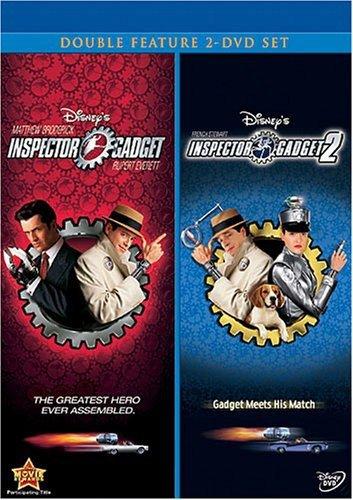Halloween Movies On Disney Xd (Inspector Gadget/Inspector Gadget 2 2-Movie)