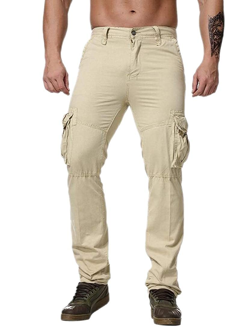 Alion Mens Casual Military Army Cargo Camo Sports Work Combat Work Pants