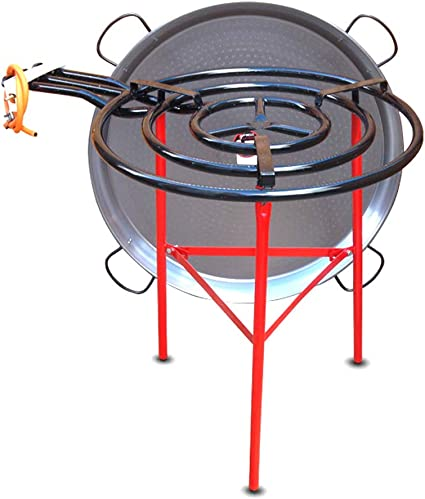 Vaello Campos Kit de paella de catering – quemador de gas de ...