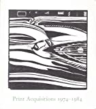 Print Acquisitions, 1974-1984, Judith Goldman, 0874270014