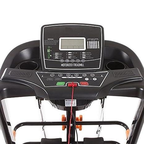 Cinta de correr 2200 W semiprofesional.: Amazon.es: Deportes y ...