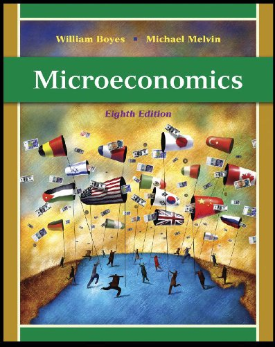 Study Guide for Boyes/Melvin's Microeconomics