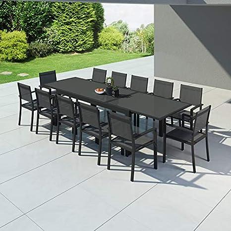 IMS Garden Hara XXL - Mesa de jardín extensible aluminio 200 ...