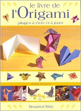 Le Livre De L Origami Pliages A Vivre Et A Jouer Didier