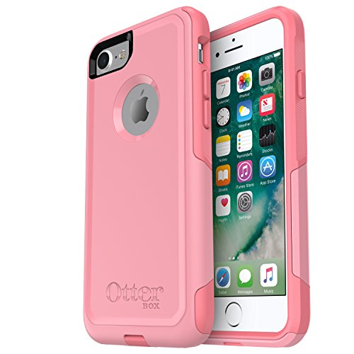OtterBox (77-53899) COMMUTER SERIES Case for iPhone 8 & iPhone 7 (NOT Plus) - Retail Packaging - ROSMARINE WAY (ROSMARINE/PIPELINE PINK)
