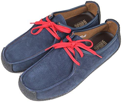... Gadae-001 Unisex Klassiske Skinn Moccasin Loafers Sko Navy
