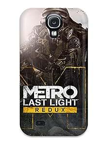 Jocelynn Trent's Shop New Style Tpu S4 Protective Case Cover/ Galaxy Case - Metro Last Light Redux