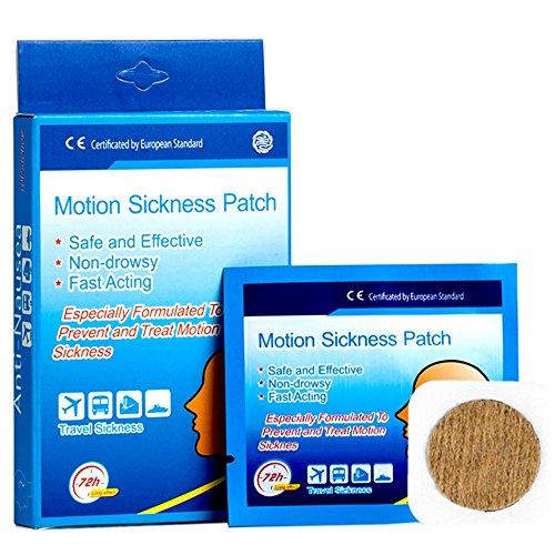 10 Ct Box Car Sea Motion Sickness Patch Anti Nausea Non
