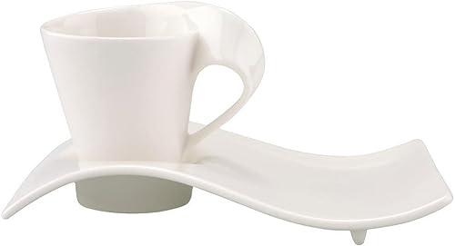 Espressotassen Villeroy und Boch - Espresso-Set, eleganter Kaffeegenuss, Premium Porzellan