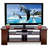 Furinno Boyate TV Stand, TV Cabinet, Walnut