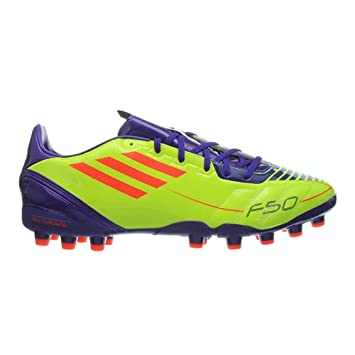 c7312007dec6 adidas New Mens F10 MG Yellow Moulded Studs Football Boots Trainers Size  6-12 UK