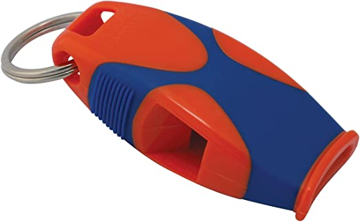 Fox 40 Sharx Pealess Whistle with Breakaway Lanyard 3-Pack Yellow//Blue