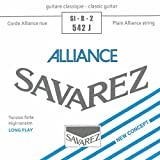 Savarez Strings 542J Nylon Classical Guitar Strings, Medium