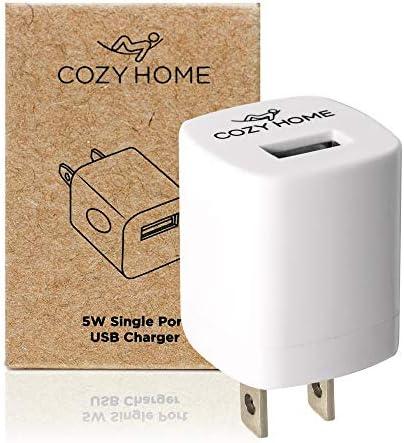 CozyHome Travel Plug Reise-Adapter - USB Reise-Stecker für die USA, China & weitere Länder | Mini US-Stecker Adapter Typ A (1x Reiseadapter)