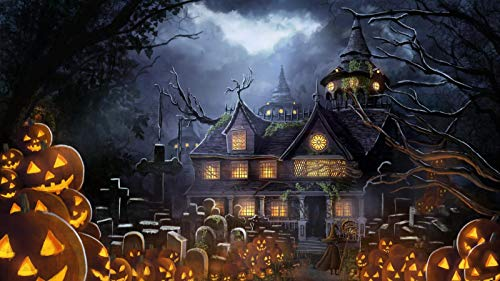 Halloween Night Out London - 1000 Pieces Classic Puzzle Wooden Children's