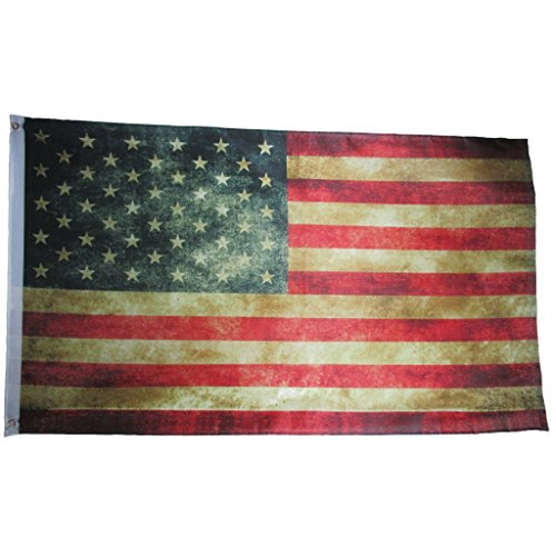 FLAG7283-BRK USA Vintage Flag 3x5