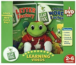 leapfrog letter factory dvd leap frog gift set letter factory talking 22719