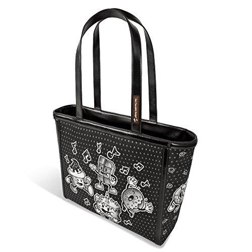 (Hot Chocolate Design Cartoon Women's Tote Bag )