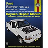 Haynes Ford Ranger Pick-ups (93 - 05) Manual
