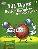 101 Ways to Make Your Students Better Decoders and Readers, RIGBY, 141901885X