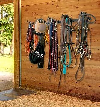 StoreYourBoard Rack de Almacenamiento de Tachuela para Caballos, Granero y Sala de Tachuela, Accesorios ecuestres