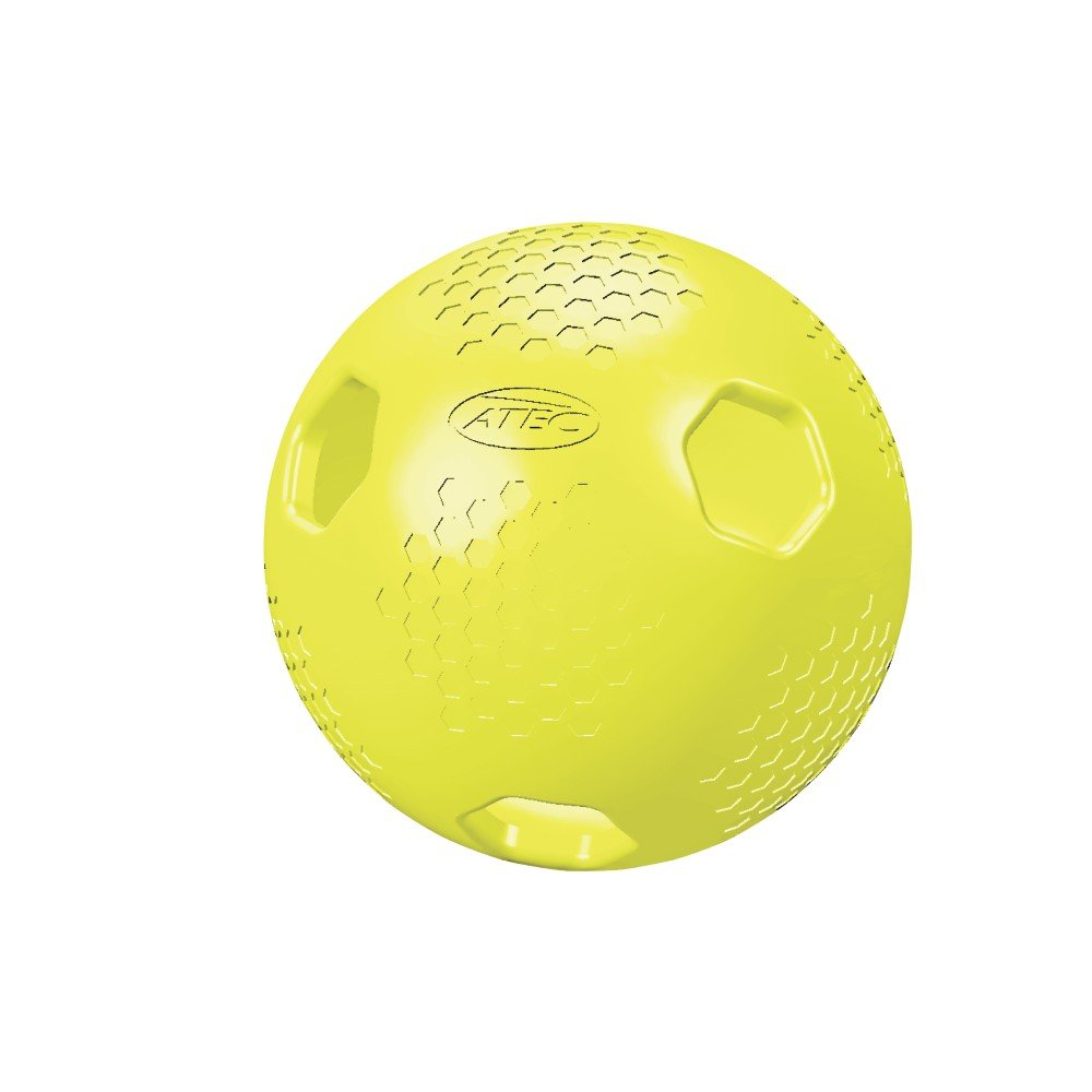 ATEC HI Per X-ACT Baseball (Pack of 12), Optic Yellow