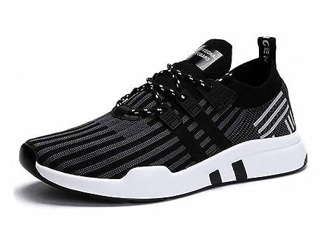 Uomini che lavorano a maglia scarpe da corsa di grandi dimensioni 2018  Primavera Estate Nuova moda b6d105fb351