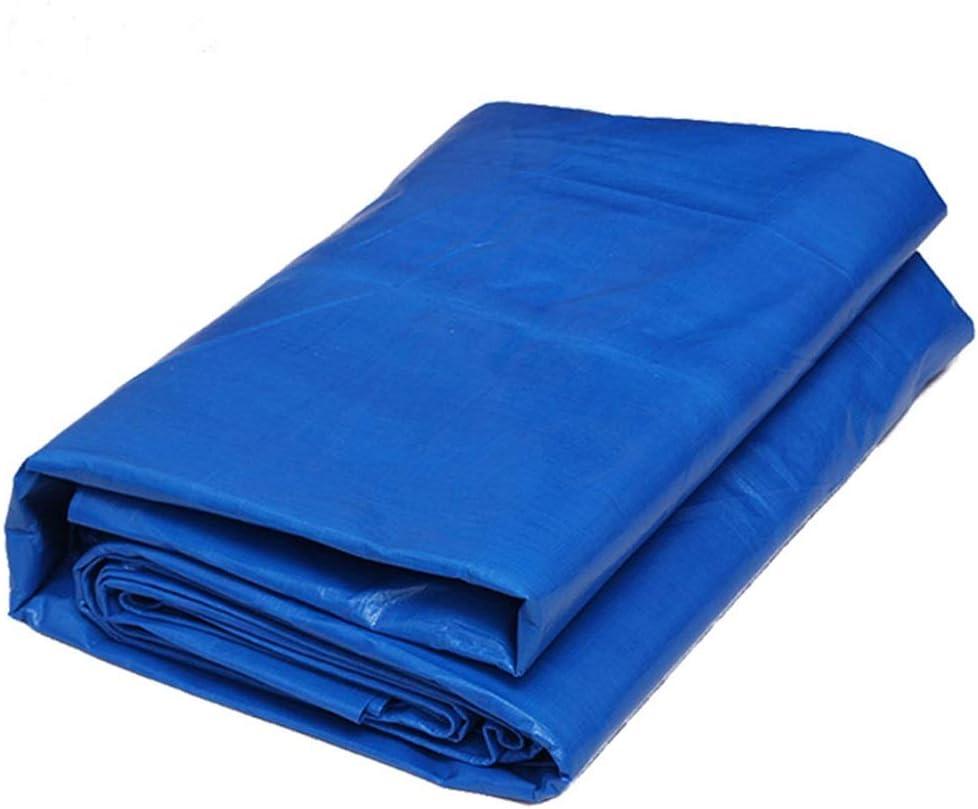 厚くプルーフターポリン防水・防水シート・防水シート・屋外・日焼け止め・キャノピー・雨の布 FENPING (Color : Blue orange, Size : 8*10m)