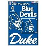 WinCraft NCAA Duke University WCR98216014 Multi-Use Decal, 11' x 17'