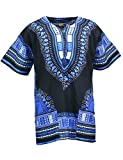 KlubKool Dashiki Shirt Tribal African Caftan Boho Unisex Top Shirt