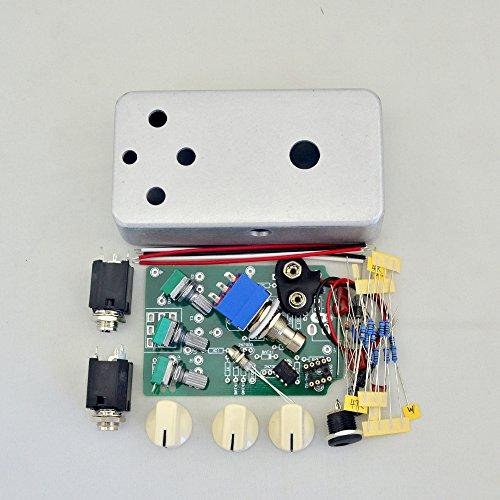DIY Overdrive(OD1) Effect pedal Kit With 1590B Hammond 1590B Style Aluminum Box
