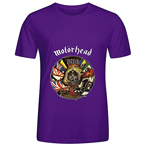 Motorhead 1916 Greatest Hits Men O Neck Cotton Shirt - 90s Cholo