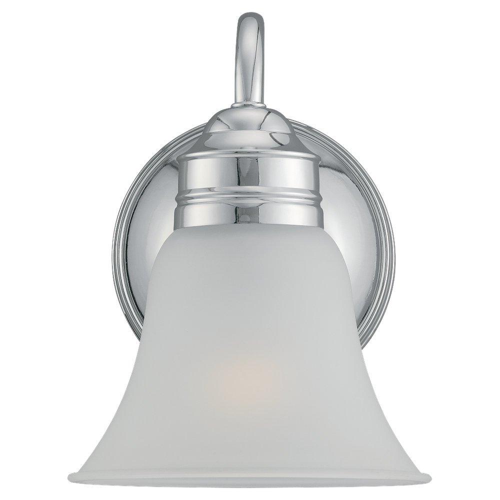 Low cost sea gull lighting 44850 05 gladstone single light bathroom light fixture