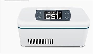 HL Refrigeradores Portátiles Medicina Termostato De Almacenamiento Médico Pequeño Refrigerador , White,white