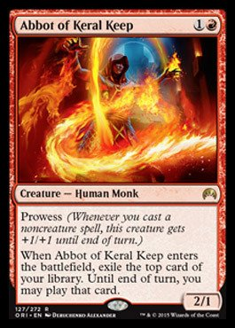 Magic: the Gathering - Abbot of Keral Keep (127/272) - Origins